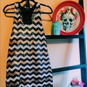 Boutique Brand sequin dress